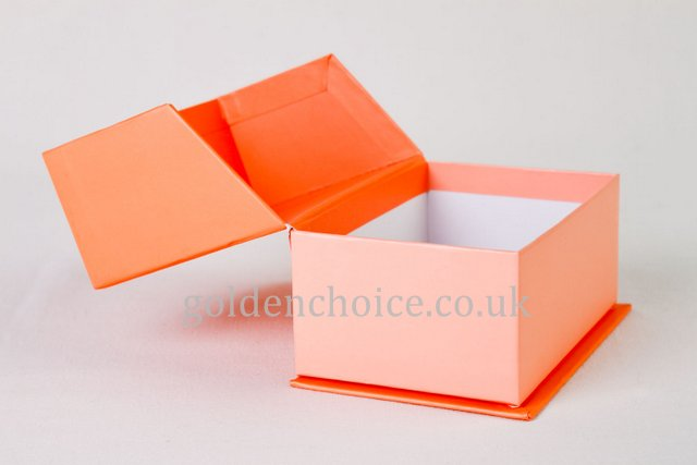 Luxury Hinged Gift Boxes with Embossed Paper
